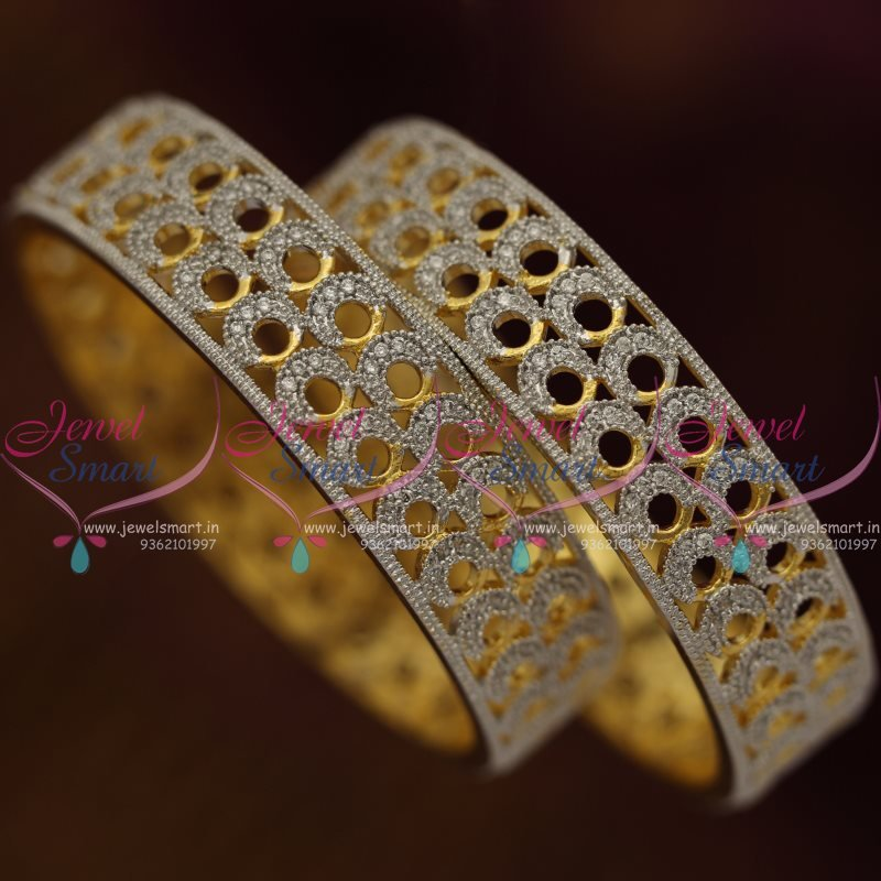 B7266 Ad Gold Silver Two Tone Plated Broad Imitation