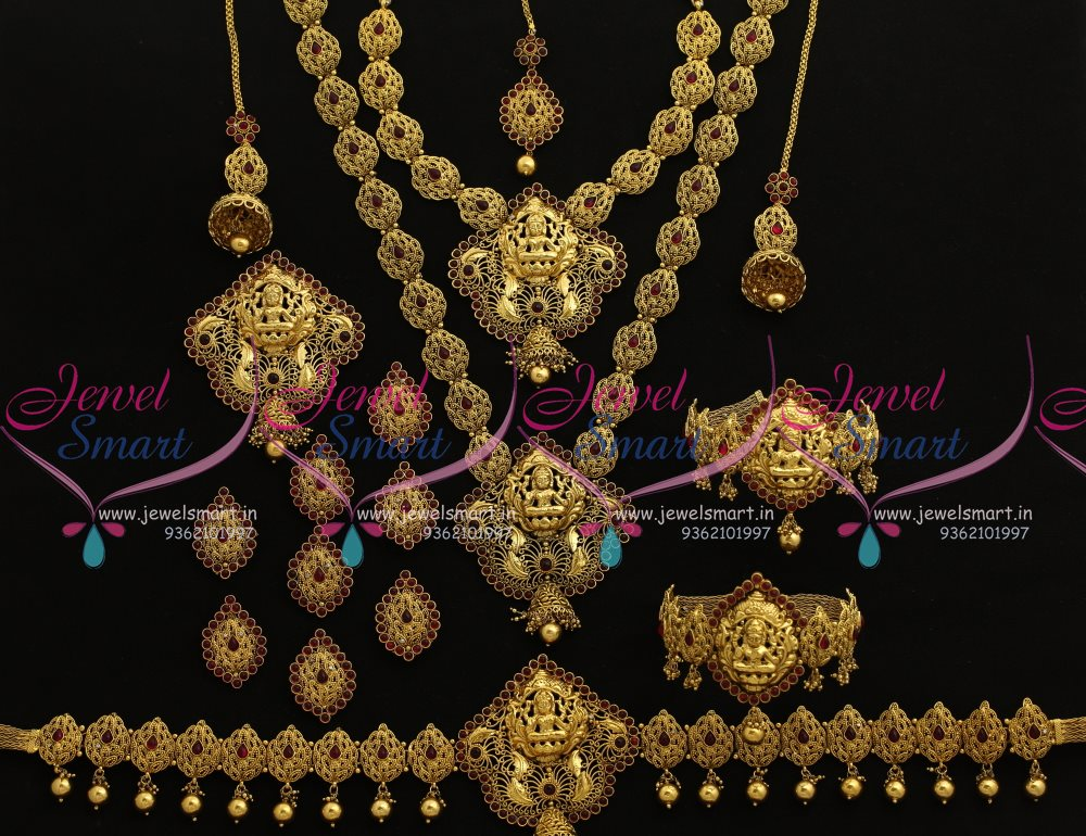 BR7786 Antique Nagas South Indian Traditional Full Bridal ...