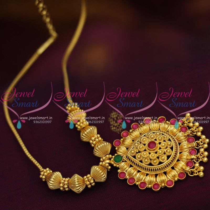 Nl8644 Traditional Gold Design Fancy Pendant Beads Roll