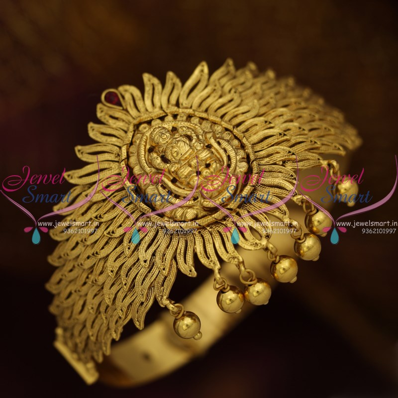 Ar8891 Beautiful Broad Leaf Design Nagas Temple Vanki Belt
