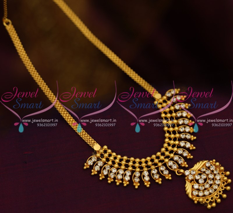 Nl8856 beads design pendant flat chain ad white stones simple nl8856 beads design pendant flat chain ad white stones simple necklace gold plated aloadofball Choice Image