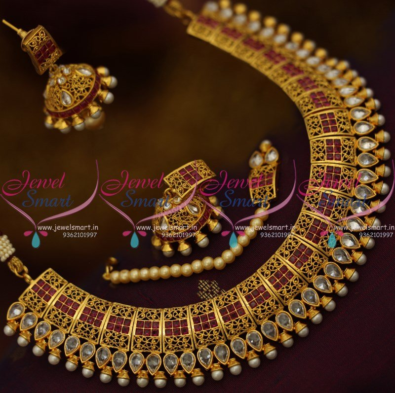 kiran buy indian kumar online jewellery lalithaa necklace antique collections