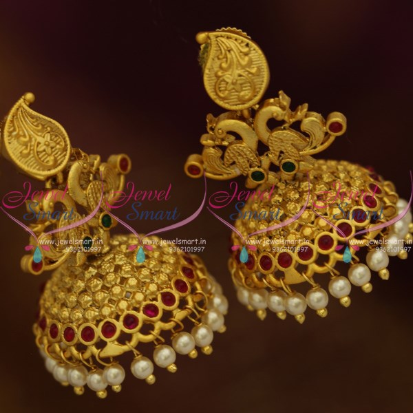 Gold Earring Design Patterns