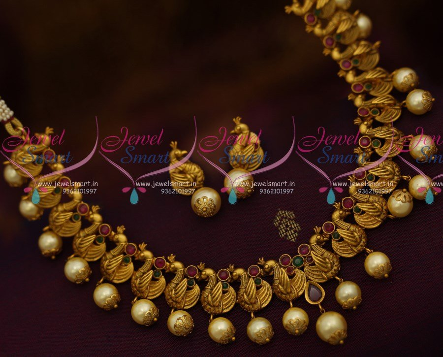 india low at haram antique pearls store jewellery prices buy dp online zaveri necklace goddess set shilp in amazon shastra