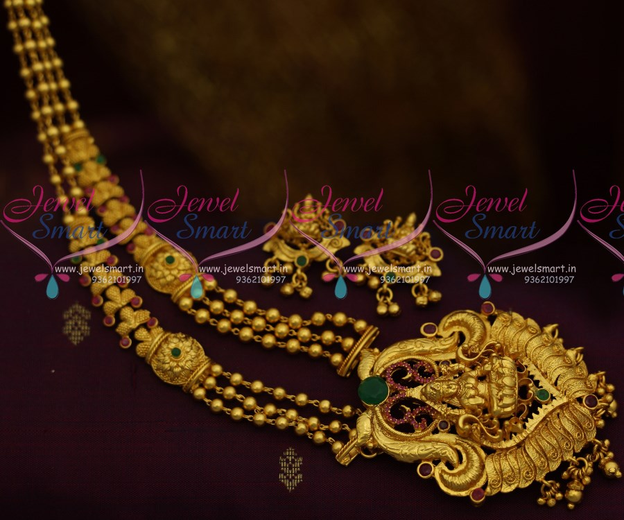 india south design new gold with arun necklace jewels jewellers model earrings latest