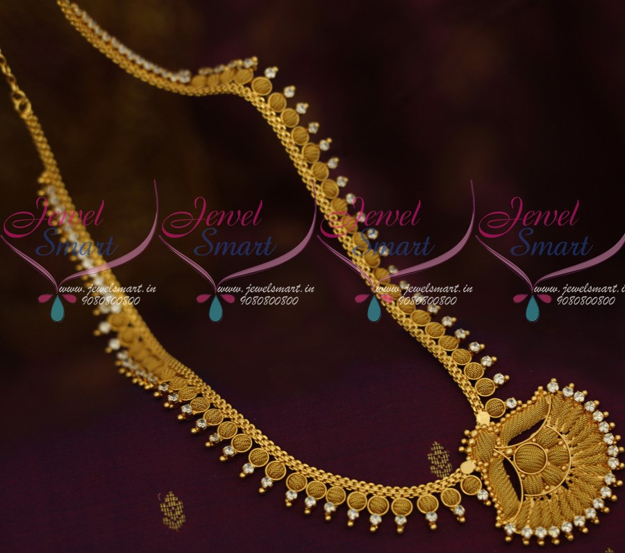 layerd chandrahar beads pendant with necklace gold jewellery designs and