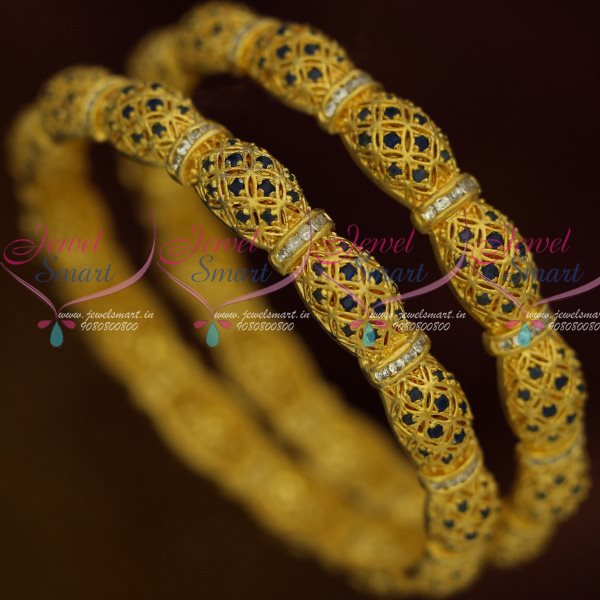 bangles gemco international gemstone blue sapphire ab gold product yellow