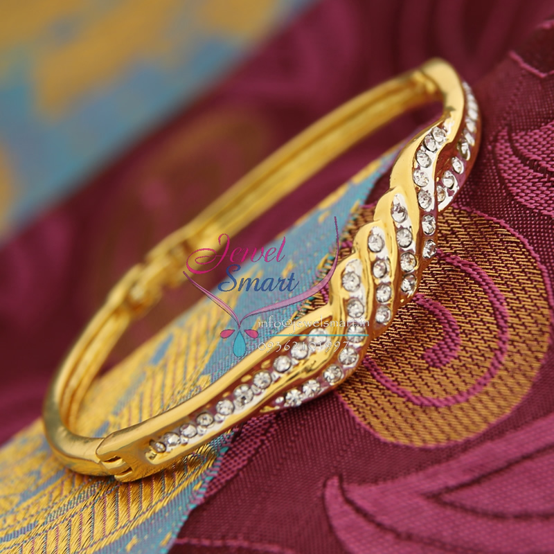 22ct Indian Gold Pendant Set 993 99: BA9327 22ct Gold Plated Bracelets Open Type Indian Fashion