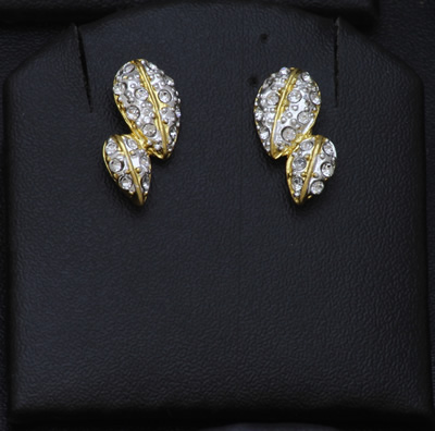 E9288 gold plated jewellery online diamond finish earrings for Does gold plated jewelry fade