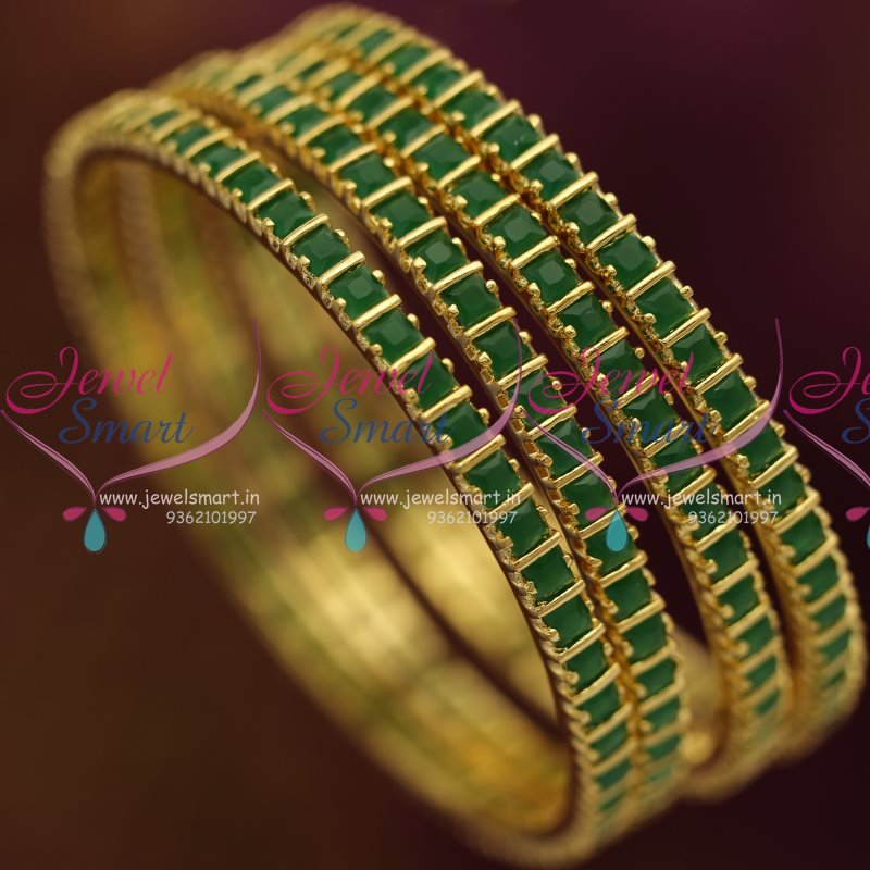 slim set indian stone stones pcs image green kangan bangles is gp bridal itm bangle red bollywood loading s