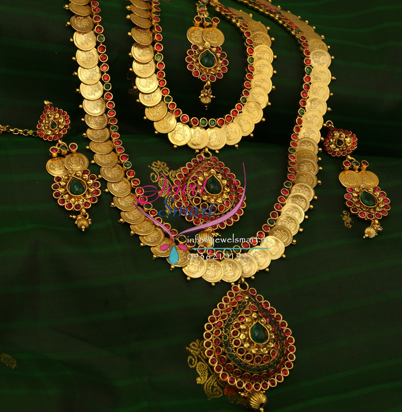 Indian Traditional Wedding Dulhan Jewellery Temple Synthetic ...