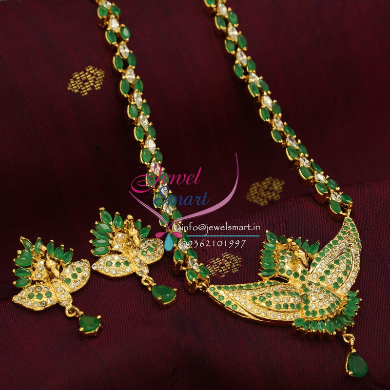 Jewellery India Online Shop Indian Gold Plated Necklace Sets: Indian Traditional Fashion Jewelry Gold Plated Emerald