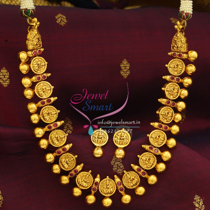 NL0526 Indian Traditional Imitation Temple Fashion Jewellery Laxmi