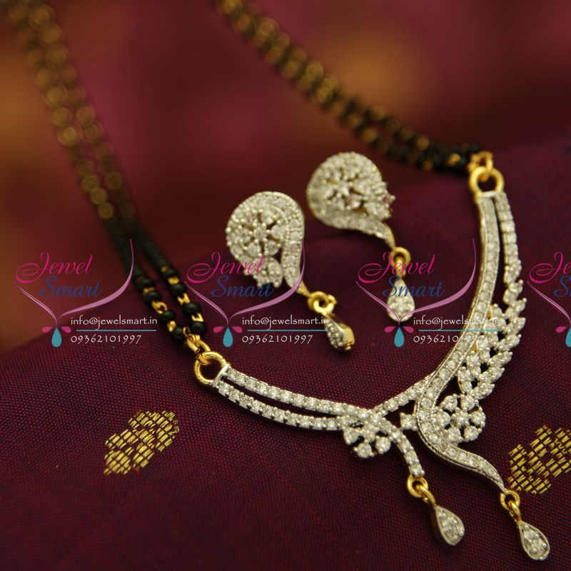 MS0848 CZ Mangalsutra Indian Traditional Auspicious Jewellery ...