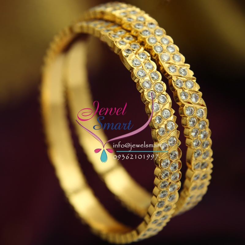 B1747 2.6 Size South Indian Traditional Gold Design Jewellery ...
