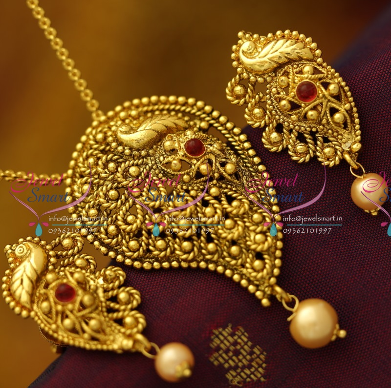 indian pendant designs necklace watch gold south youtube antique jewellery