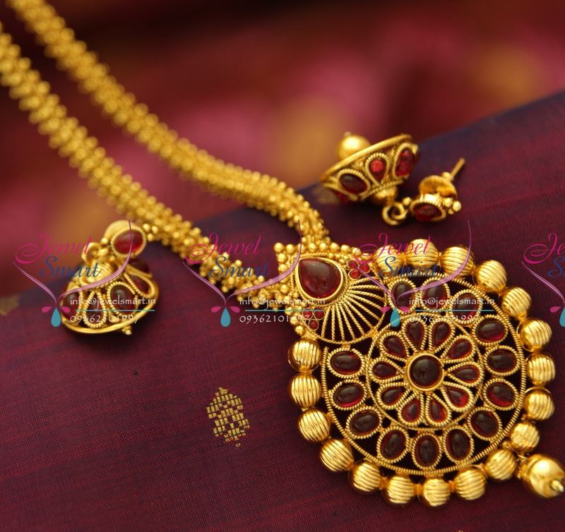 jhumka jewellery lockets handmade round fancy kemp locket set img plated online design buy chain gold