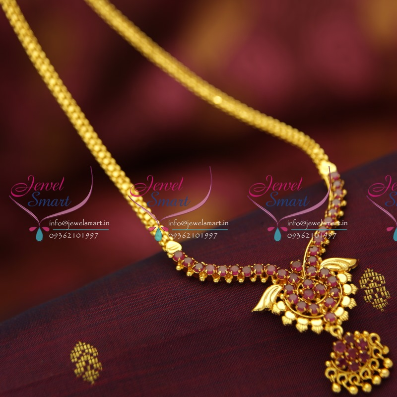Nl5145 ruby pendant flat chain gold look traditional jewellery buy nl5145 ruby pendant flat chain gold look traditional jewellery buy online aloadofball Gallery