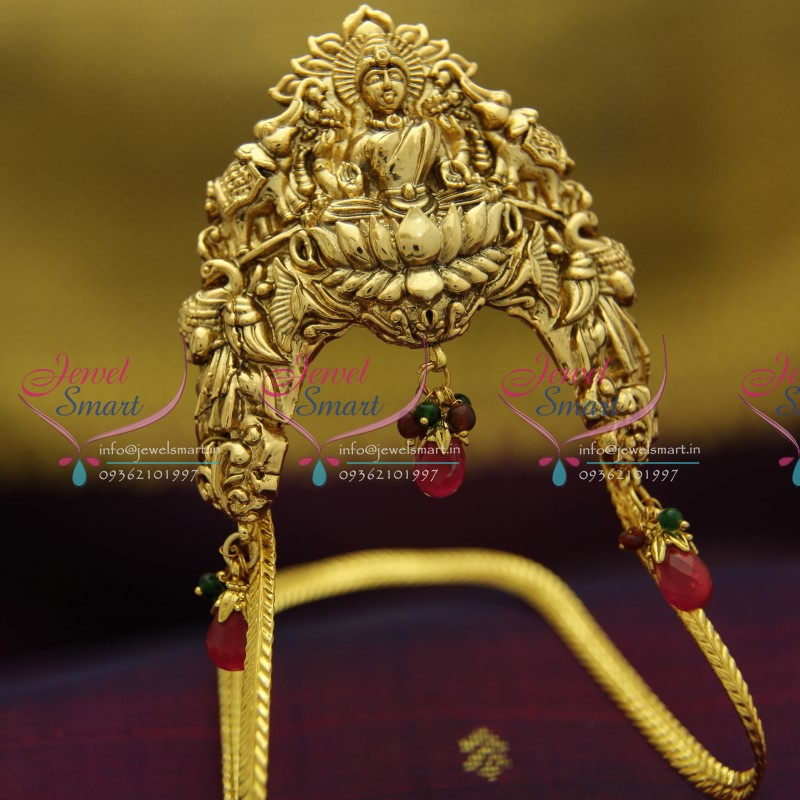 Ar0685 Traditional South Antique Bridal Vanki Temple