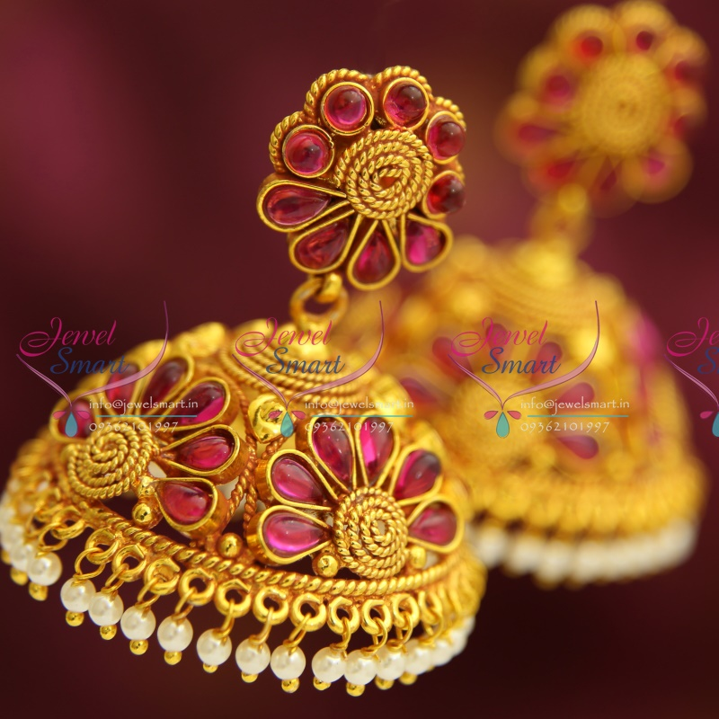 J3196 Kemp Style Traditional South Indian Jewellery Big Broad