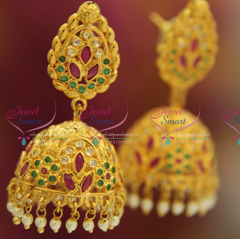 in plain earrings jewellery buy jewelry gold earring online vivacity peacock designs pics fashion the