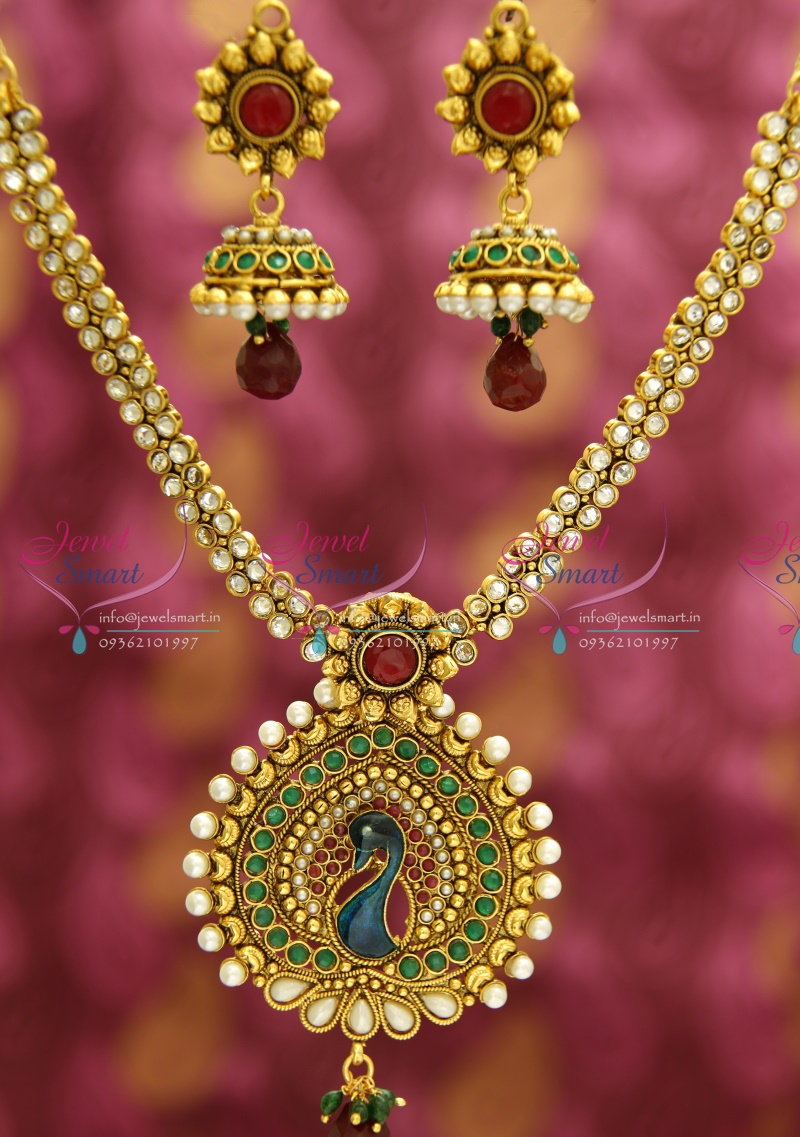 Indian jewelry designs gold