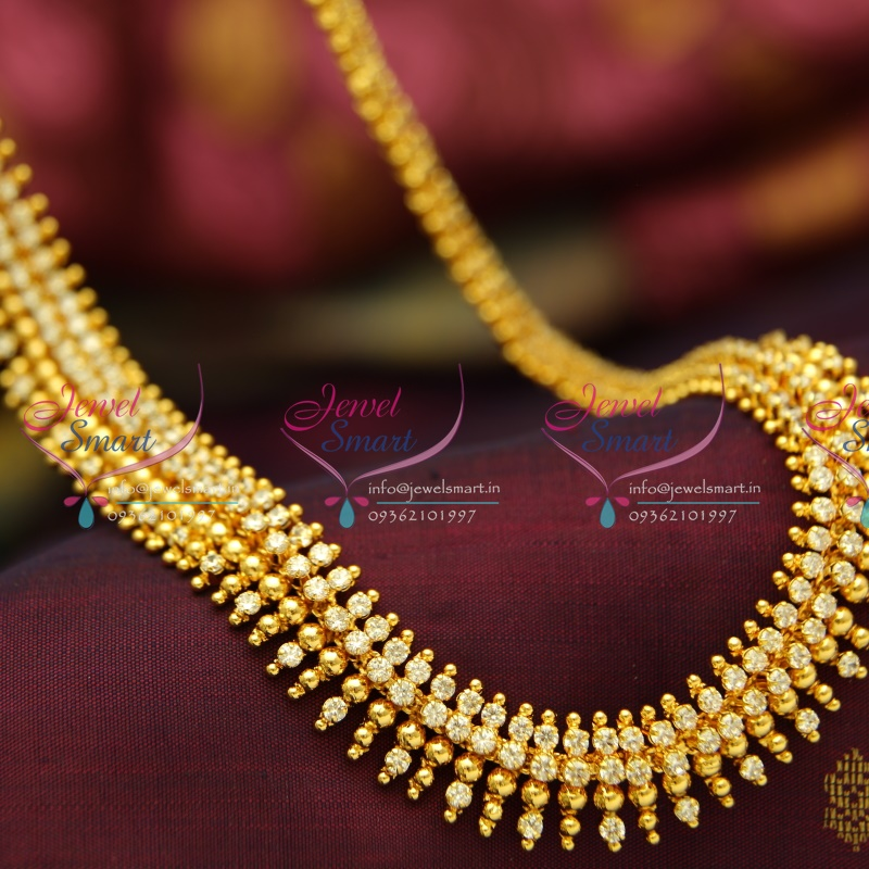 Gold Plated Long Necklace Online Gold Plated Haram Long