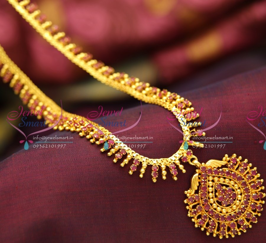Exclusive gold necklace design