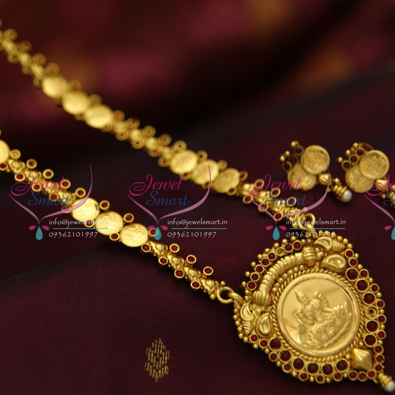 NL3968 Indian Traditional Temple Jewellery Antique Gold Plated ...