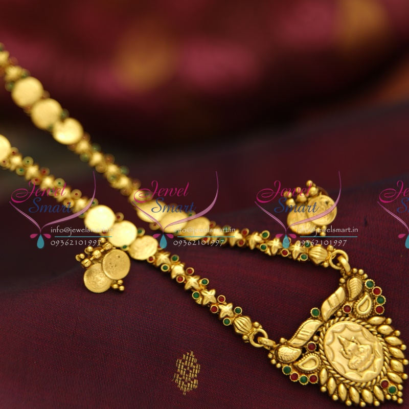 NL3973 Indian Traditional Temple Jewellery Antique Gold ...