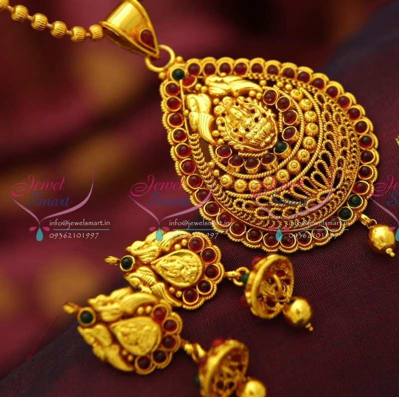 cz gemstones jewelry set chain indian color multi gold plated pin kundan necklace vardhamangoodwill pendant