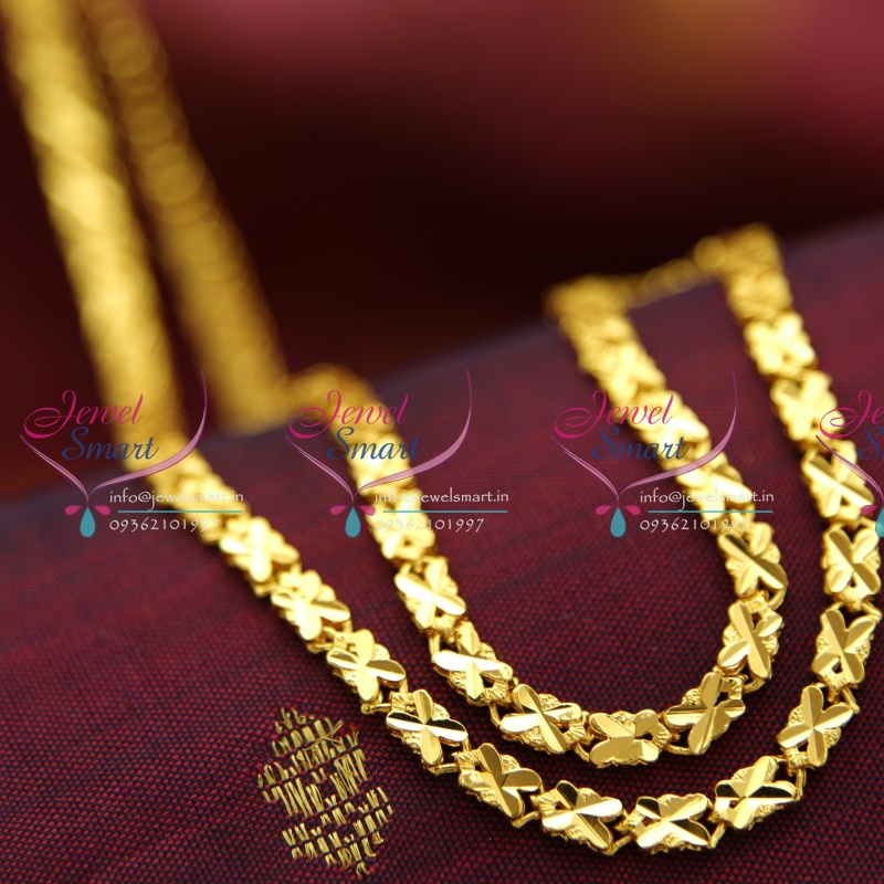 C4251 Chain 24 Inches Length Party & Daily Wear Traditional Fancy ...