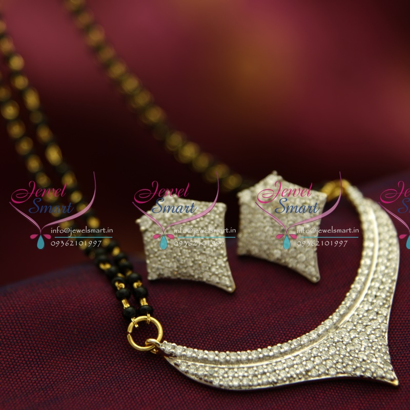 M4258 CZ Mangalsutra Indian Traditional Auspicious Jewellery ...