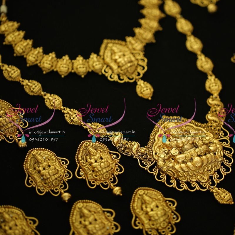 WS5514 Antique Nagas Full Wedding Bridal Dulhan Temple Jewellery ...