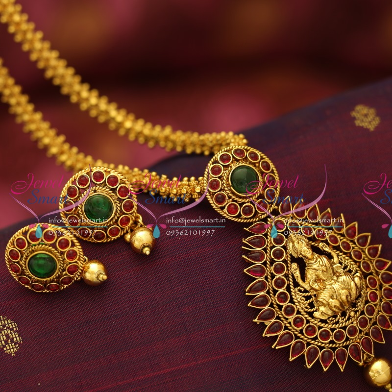 buy plated temple set god design locket online jewellery chains gold laxmi chain img lockets