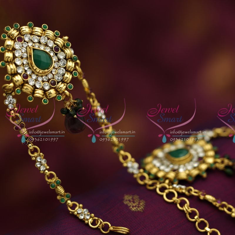 69ccbb676 V6206 Antique Low Price Traditional Vanki Baju Band Artificial Jewellery  Online