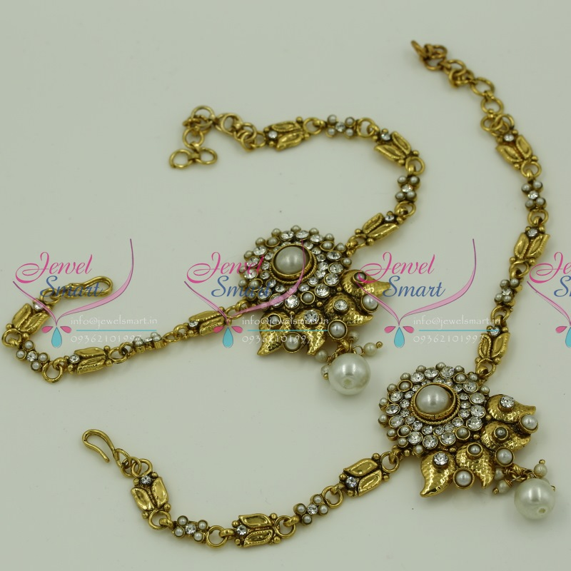 569b11c89 V6207 Antique Low Price Traditional Vanki Baju Band Artificial Jewellery  Online