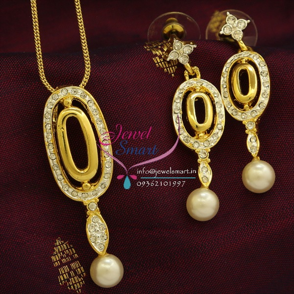 Pe9492 delicate two tone gold design pendant earrings fancy chain set aloadofball Image collections