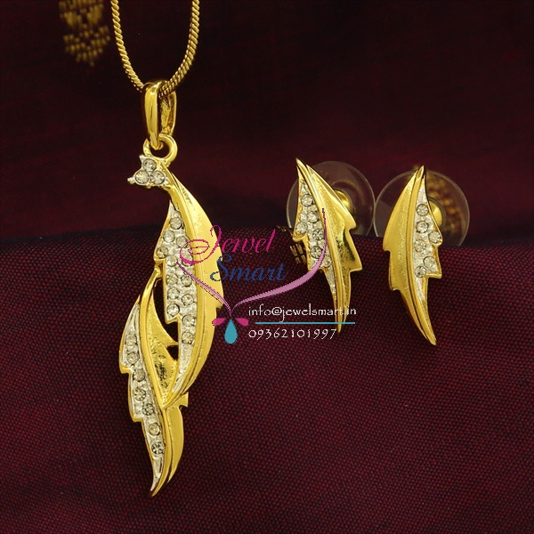 Diamond Pendant Set Designs With Price