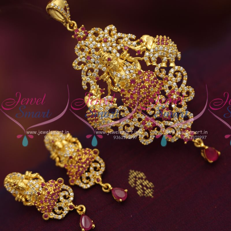 PS7089 Temple Jewellery Pendant Set Designs Buy Jewellery Online Best Prices