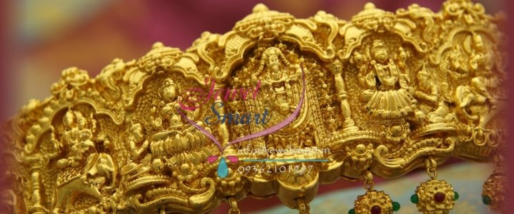 One-Gram-Gold-Bridal-Vaddanam-Oddiayanam-Hip-Belt-Nakshi-Temple