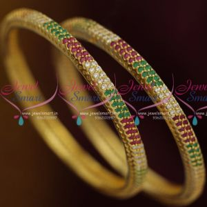 ruby-white-emerald-semi-precious-stones-tyre-shape-bangles-shop-online-imitation