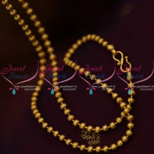 gold-plated-18-inches-3mm-ball-chains-suitable-for-pendant-sets-buy-online