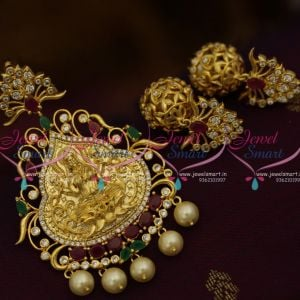 temple-nagas-design-gold-plated-cz-ruby-emerald-jewellery-latest-fashion-pendant-set-online