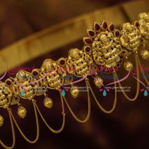 H9651 One Gram Nagas Temple Vaddanam Gold Design Oddiyanam South Indian Traditional Hip Belt