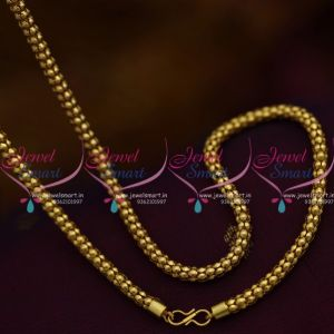 C9993 Light Weight Gold Plated Hollow Chain 18 Inches Shop Online Imitation Jewellery