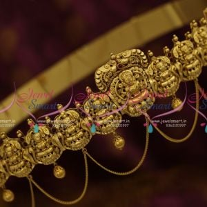 H9826 Antique South Indian 32 to 38 Inches Oddiayanam Gold Design Vaddanam Jewellery Buy Online