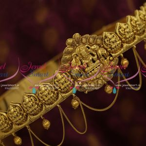 H9825 Gold Plated Imitation Oddiyanam 31 To 37 InchesTemple Design Jewellery Bridal Collections Online