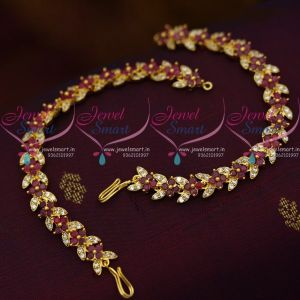 red-white-latest-semi-precious-stones-ear-chains-mattal-fancy-jewellery-collections