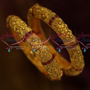 Screw Open Broad Nakshi Antique Bangles Traditional Imitation Jewellery Collections Online